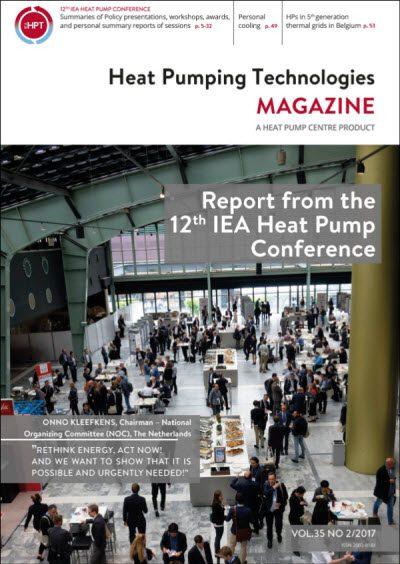 HPT Magazine No2/2017 - the Magazine about Heat Pumping Technologies