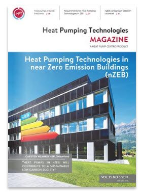 Heat Pumping Technologies in near Zero Emission Buildings (nZEB) - HPT Magazine Vol. 35 No 3/2017